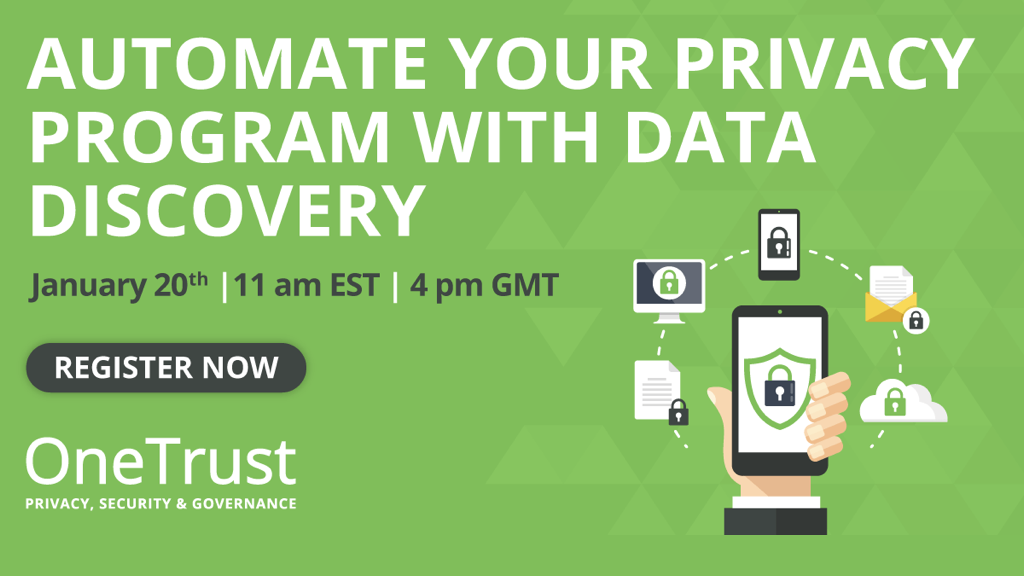 Automate Your Privacy Program with Data Discovery
