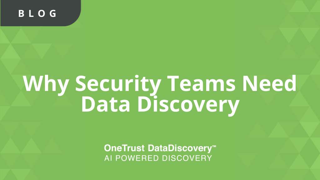Data Discovery for Security Teams