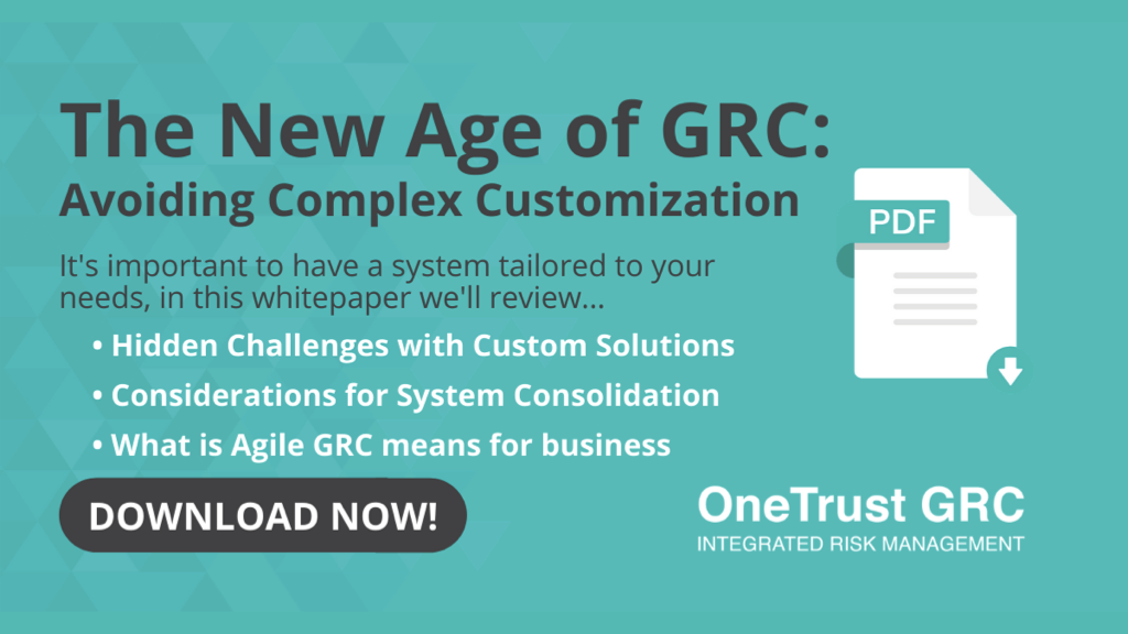 Whitepaper: The New Age of GRC